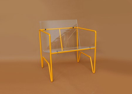 Smith + Malek Lazri Speedway Chair - Saffron