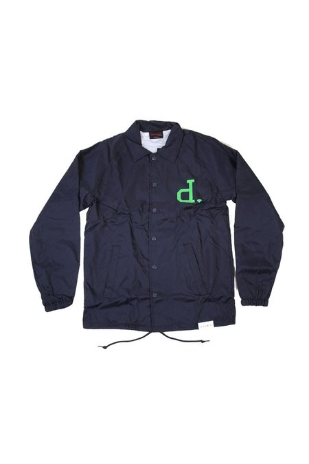 Diamond Supply Co. Un Polo Coaches Jacket - Navy