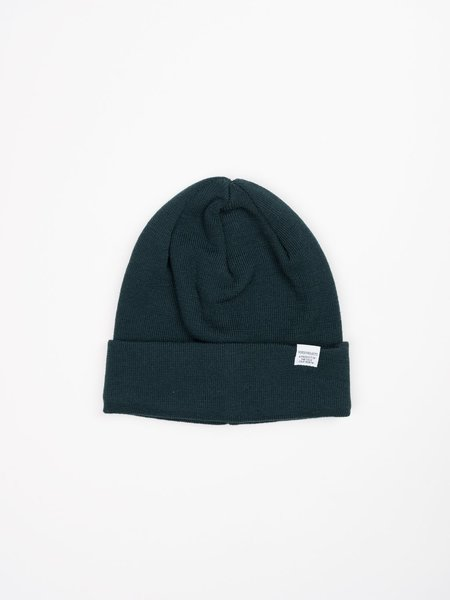 Norse Projects Norse Top Beanie - Quartz Green