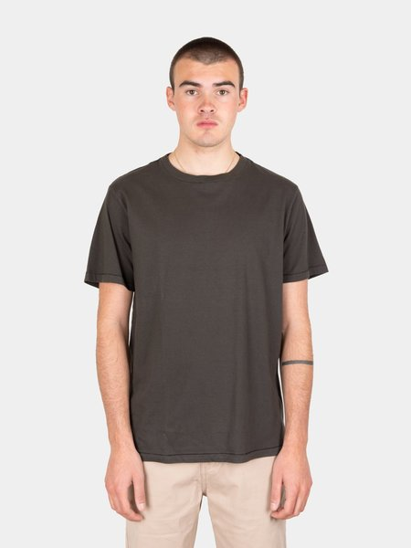 Satta Organic Cotton Tee  - Washed Black