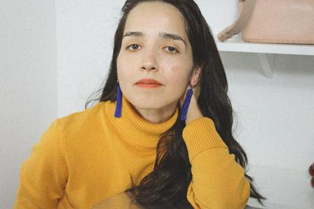 Zartiztry Athena Tassel Earrings - Azul