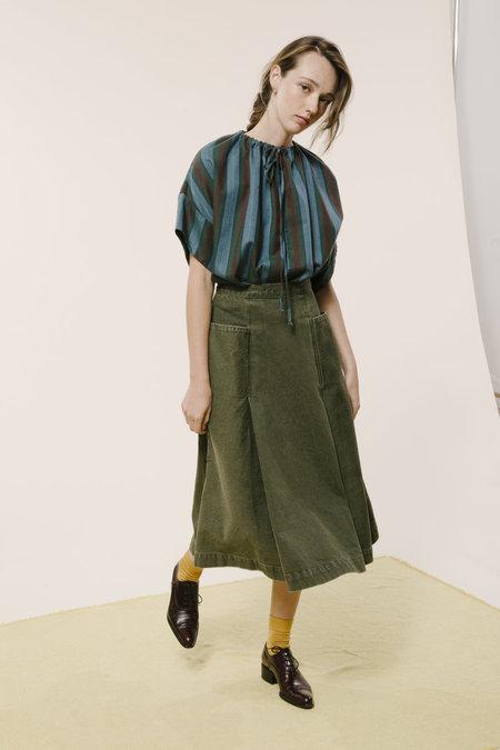 Carleen Pocket Skirt - Sage