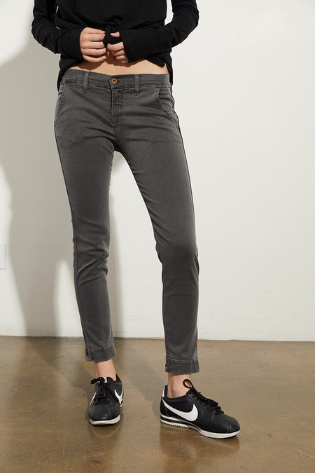NSF Wallace Skinny Leg Trouser - Washed Black