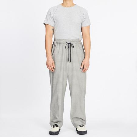 S.K. Manor Hill Wide Fit Coma Pant - Glen Check