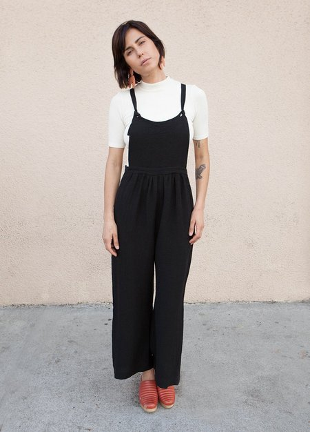 Loup Kate Overalls - Black
