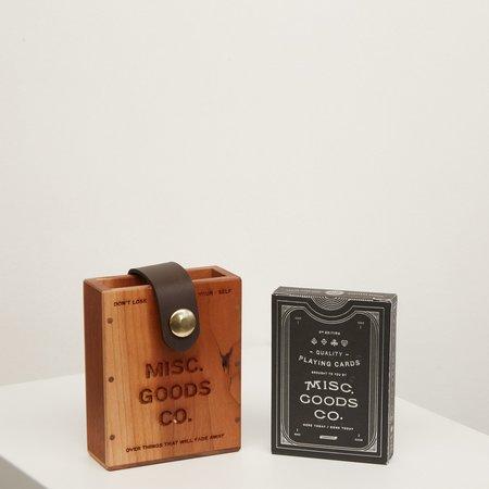 Misc. Goods Co. Wood Hard Case