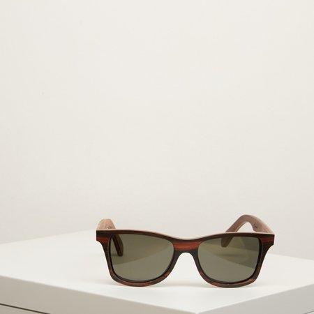 Unisex Shwood Canby Sunglasses - Ebony/Oxidized