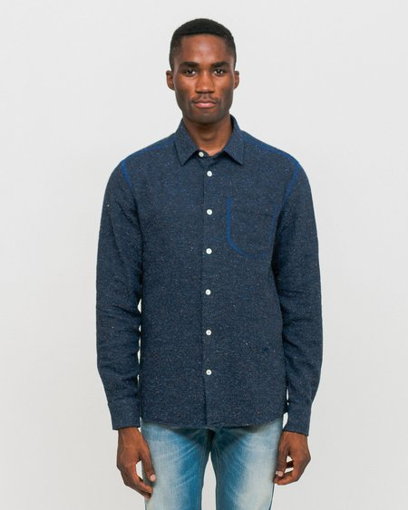 Soulland Logan Shirt - Navy