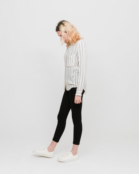 Samsoe & Samsoe Milly AOP 7201 Shirt - Whitecap