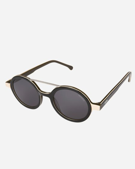 Komono Vivien Acetate Sunglasses - Black Forest