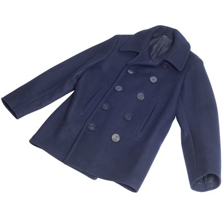 Buzz Rickson's USN Pea Coat - Navy