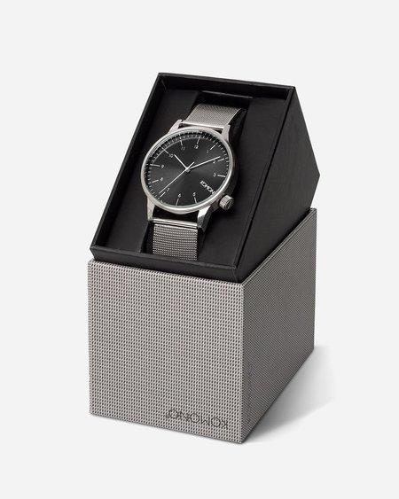 Komono Winston Royale Watch - Silver/Black