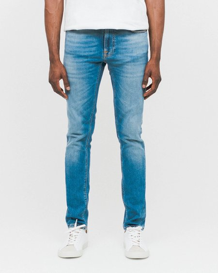 Unisex Nudie Jeans Lean Dean Jeans - Indigo Spirit