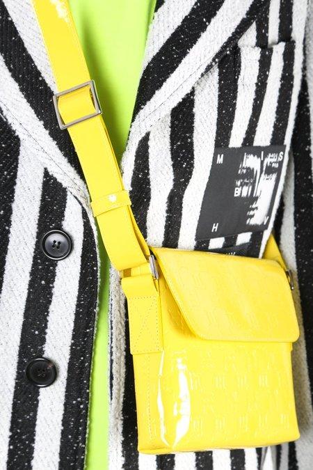MISBHV Monogram Vinyl Bag - Yellow
