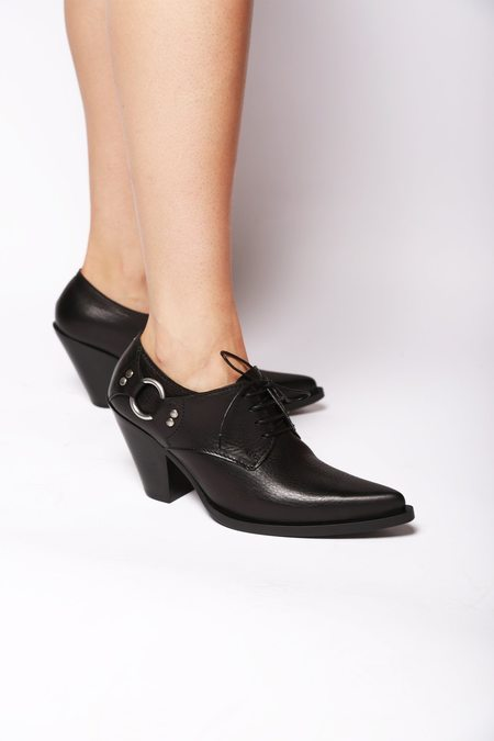 maison margiela Oxford Heel - Black
