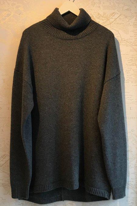 Tibi Cashmere Oversized Turtleneck Sweater