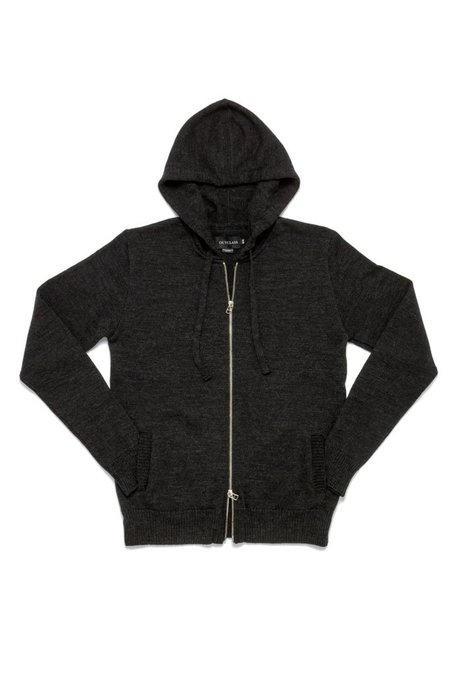 Outclass Zip-Up Hoodie - Charcoal Grey
