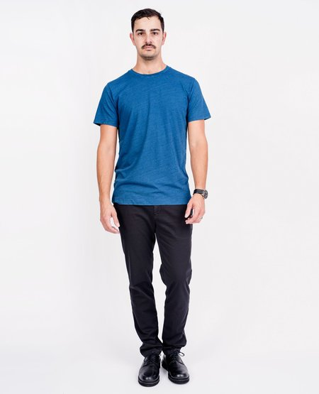 Norse Projects Niels Tee - Light Indigo
