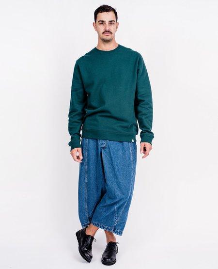 Norse Projects Vagn Classic Crew Sweatshirt - Quartz Green