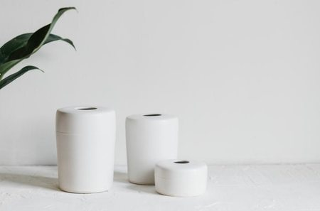 Notary Ceramics Vase - White