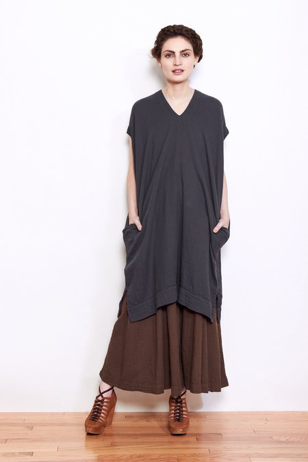 Atelier Delphine Crescent Dress - Graphite