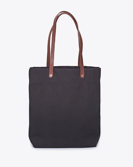 Nisolo Canvas Tote - Black