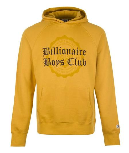 Billionaire Boys Club College Popover Hood - Yellow
