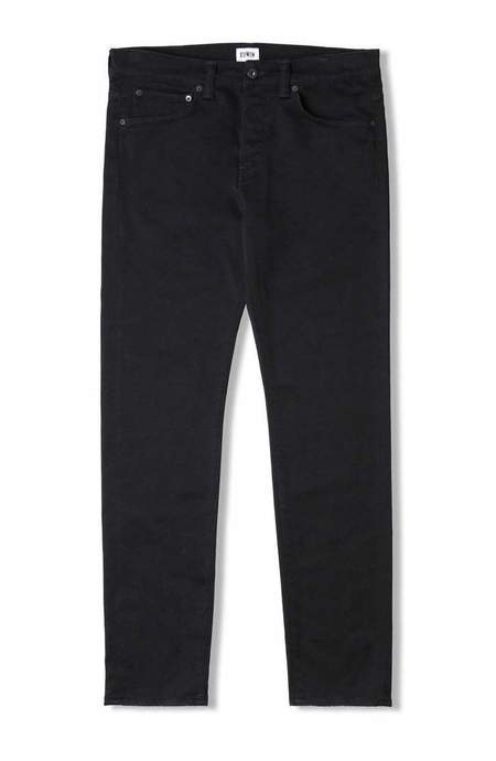 Edwin ED-80 CS Ink Black Denim - Rinsed