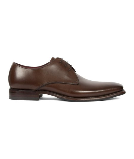Loake Bressler Burnished Calf Leather Shoe - Brown