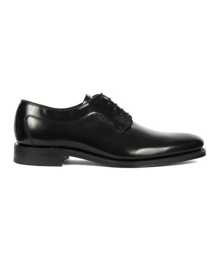Loake Neo Black Polished Leather Shoe - Black