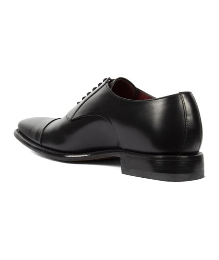Loake Snyder Calf Toe Cap Shoe - Black