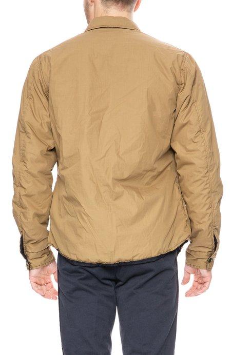 Presidents Puffy Shirt Jacket - Khaki