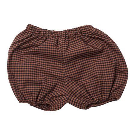 KIDS Bonton Baby Bloomers - Brown Checks