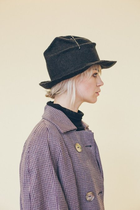 Claudia Schulz Karin Hat - Charcoal Grey