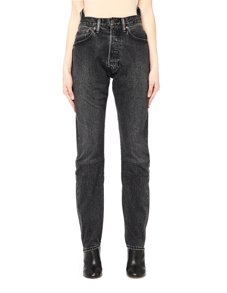 Vetements Levis high waist reworked denim - Black