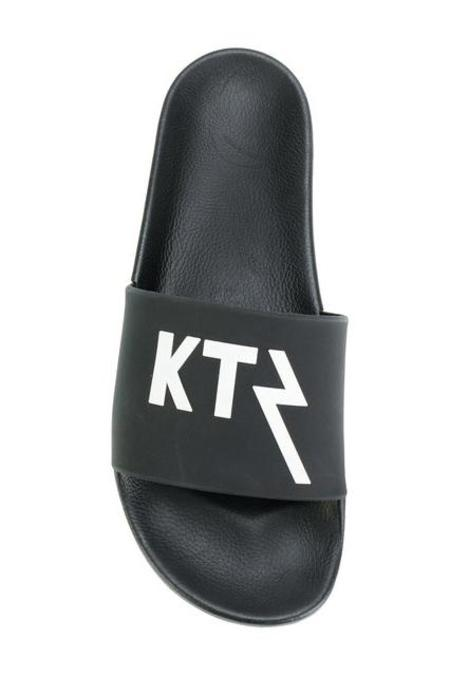 KTZ Logo Sandals - Black