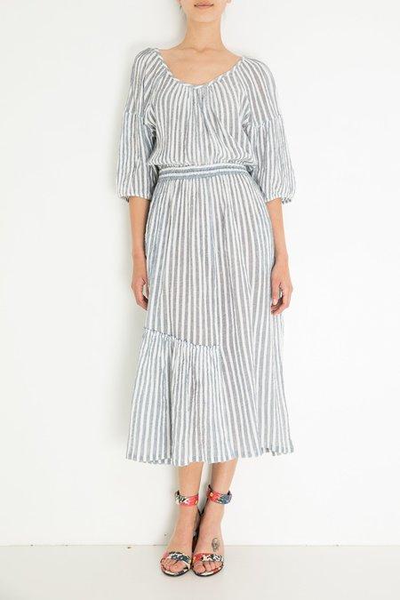 Apiece Apart Camillia Dress - Khadi Stripe