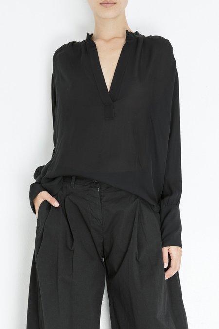 Nili Lotan Colette Blouse - Black