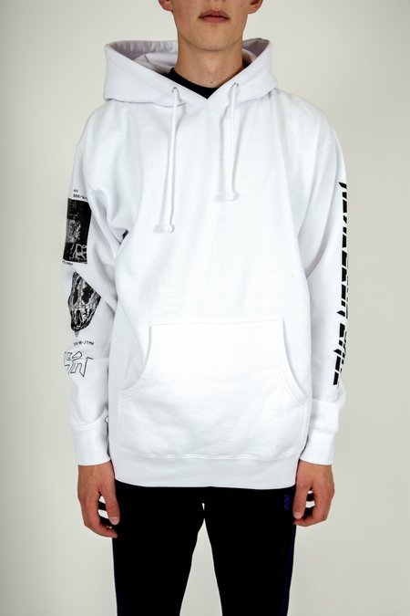 Four Horsemen Differaction Hoodie Sweater - White