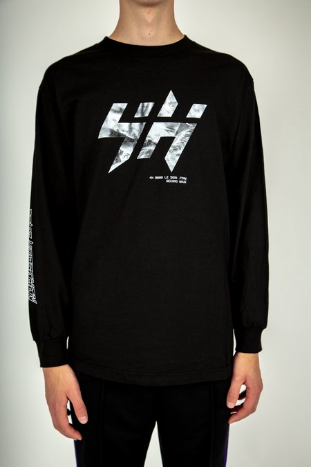 Four Horsemen KM Long Sleeve Tee - Black