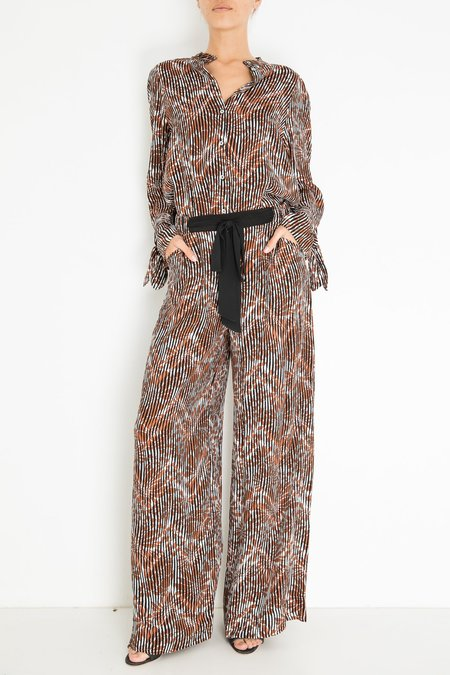 Warm Pickford Pant - Brown Stripe
