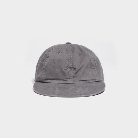 Unisex Adsum Overdyed Twill Logo Cap - Grey
