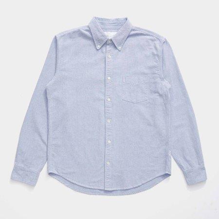 Unisex Adsum Oxford Button Down Shirt - Purple