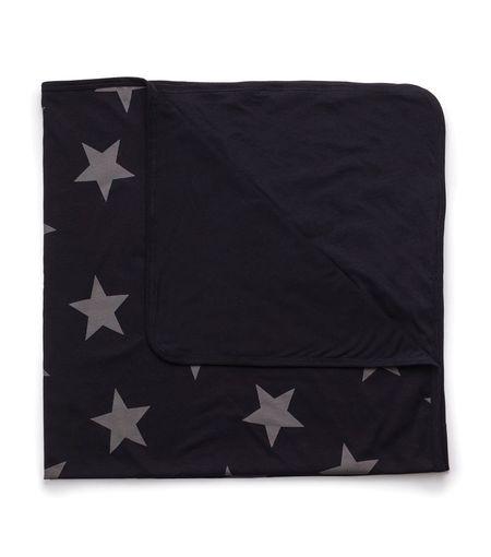 Kids Nununu Star Blanket - Black