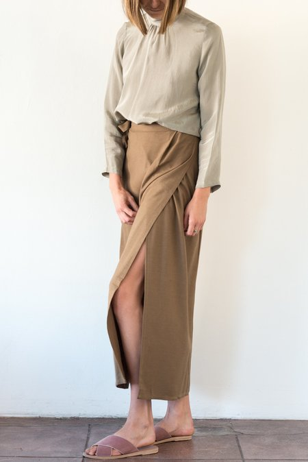 Ozma Blanket Skirt - Earth