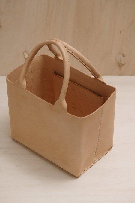 Lauren Manoogian BOX TOTE BAG - Natural