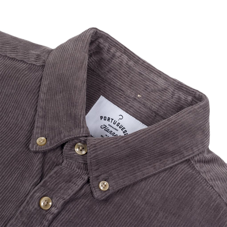 Portuguese Flannel Lobo Shirt - Grey