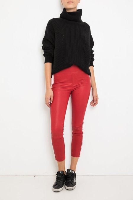 SPRWMN Capri Pants - Red/White Stripe