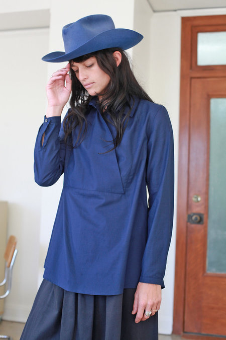 Town Clothes Loretta Shirt - Indigo