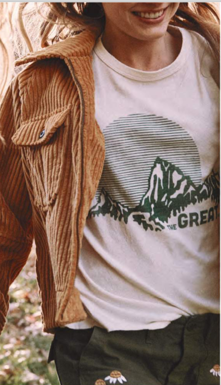 The Great. The Boxy Crew - Washed White
